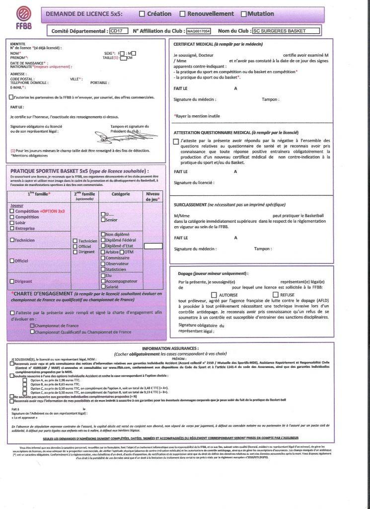 license signée 001
